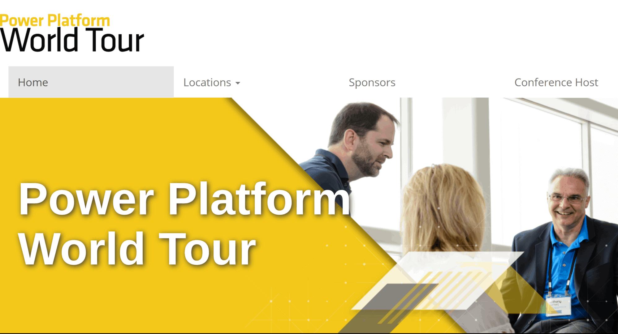 Power Platform World Tour