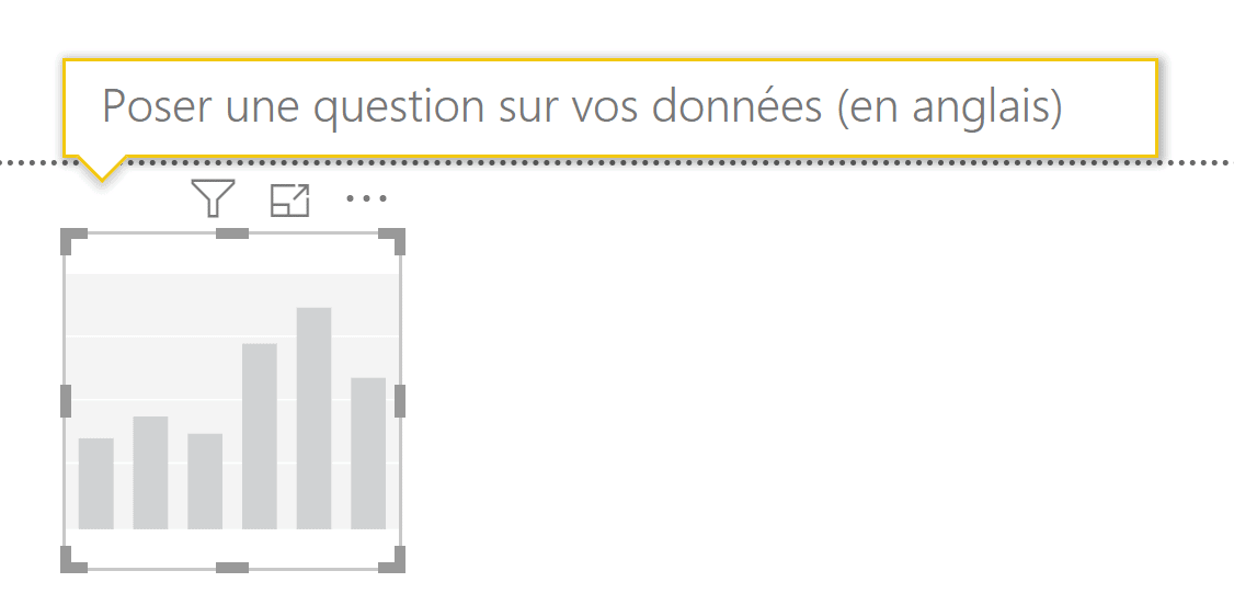 Poser une question Power BI Desktop