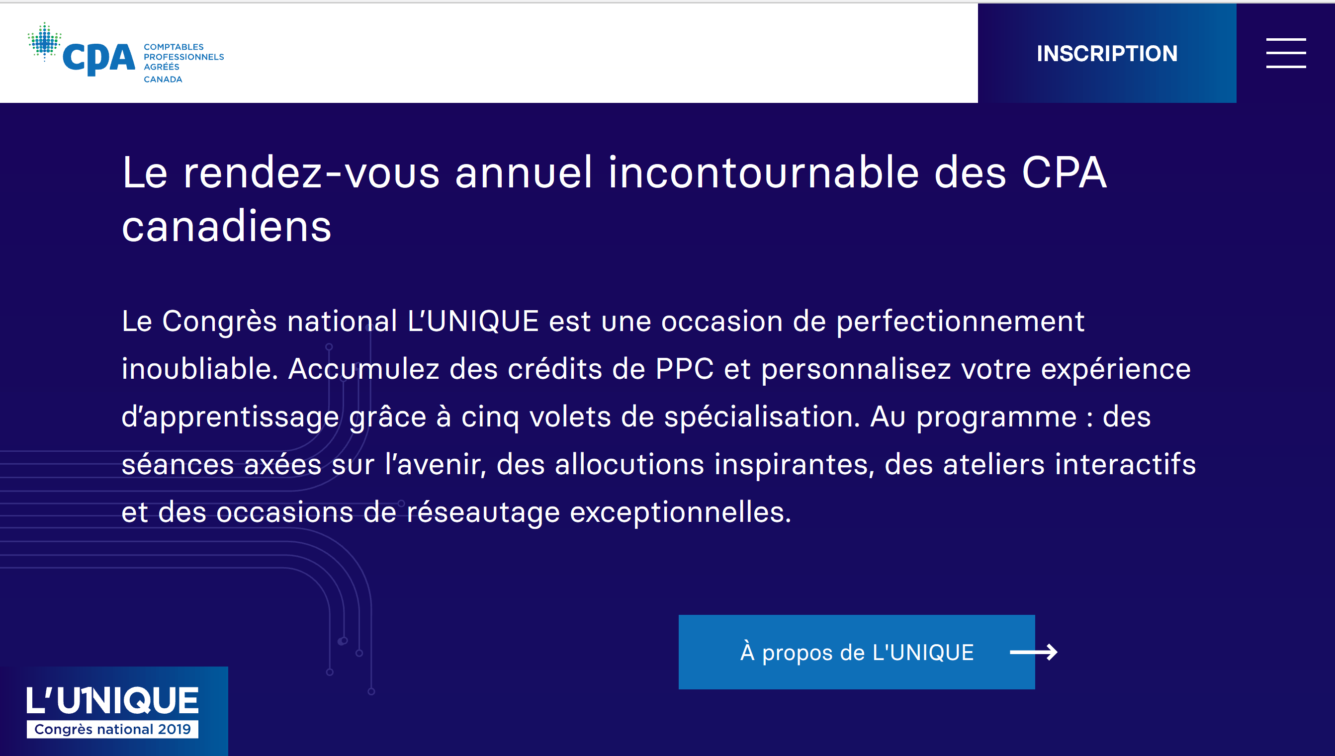 L'Unique congrès national