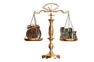 balance temps et argent