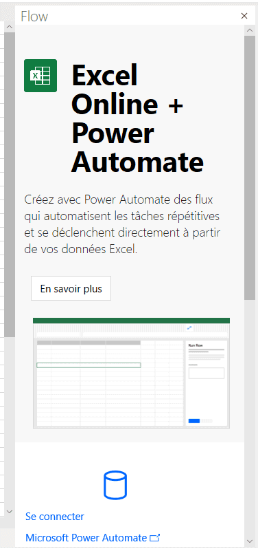 Excel Online + Power Automate