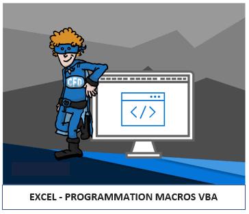 Formations programmation VBA dans Excel