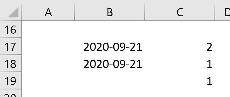 Fonction Excel JourSem