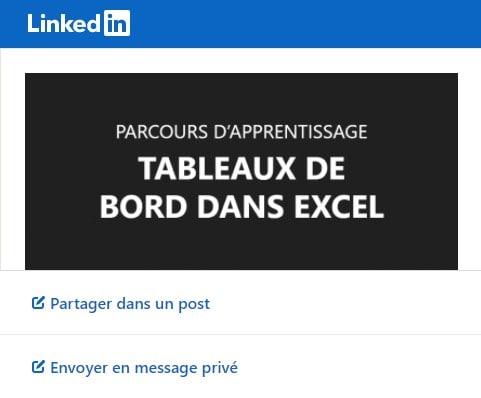 Obtenir et partager son certificat - LinkedIn