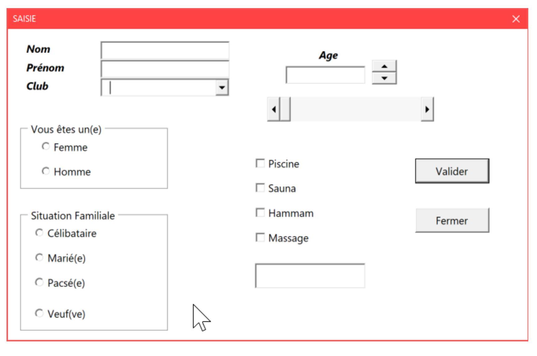 Créer un formulaire (userform) en programmation VBA dans Excel