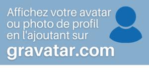 Votre photo de profil sur Gravatar