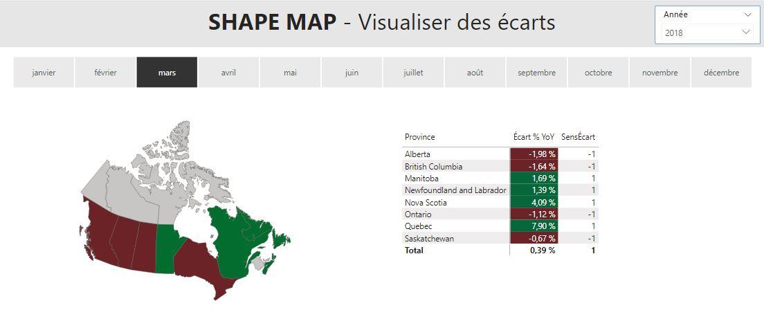 Power BI Shape Maps