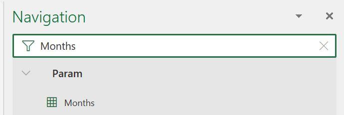 Champs nommés dans Excel